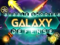 Spelletjes Bubble Shooter Galaxy Defense
