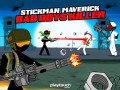 Spelletjes Stickman Maverick: Bad Boys Killer